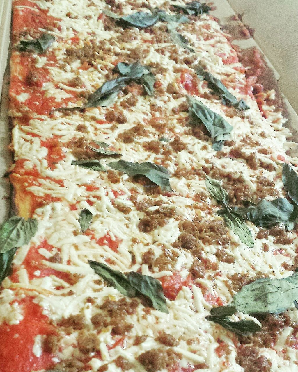 "Photo of Jules Thin Crust Pizza  by <a href=""/members/profile/Michael%20X.%20James"">Michael X. James</a> <br/>Veggie #5 plus vegan cheese and vegan sausage <br/> December 10, 2017  - <a href='/contact/abuse/image/80590/334123'>Report</a>"