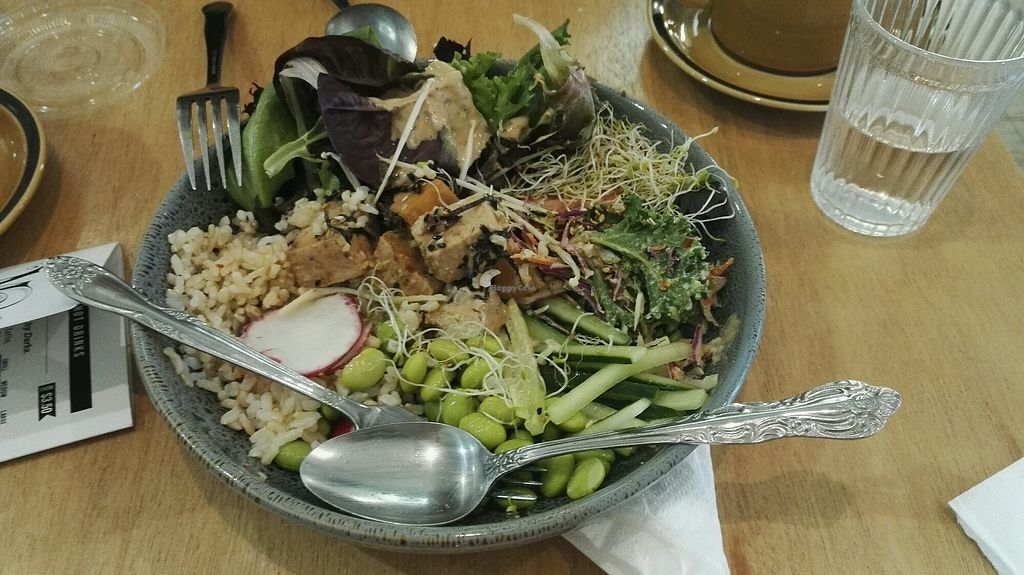"""Photo of Mama-P  by <a href=""""/members/profile/Roor"""">Roor</a> <br/>Poke bowl with tofu <br/> October 14, 2017  - <a href='/contact/abuse/image/80598/314965'>Report</a>"""
