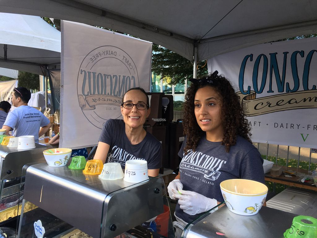 "Photo of Conscious Creamery  by <a href=""/members/profile/Beryl"">Beryl</a> <br/>at Farm to Fork Sept'16 <br/> September 26, 2016  - <a href='/contact/abuse/image/80608/177997'>Report</a>"