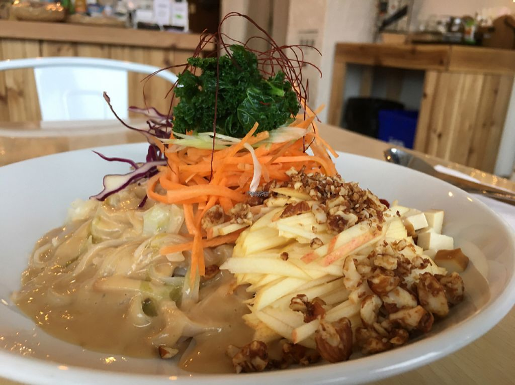 """Photo of The Workshop Vegetarian Cafe  by <a href=""""/members/profile/Zo"""">Zo</a> <br/>Rice Noodles <br/> December 22, 2016  - <a href='/contact/abuse/image/80617/204142'>Report</a>"""