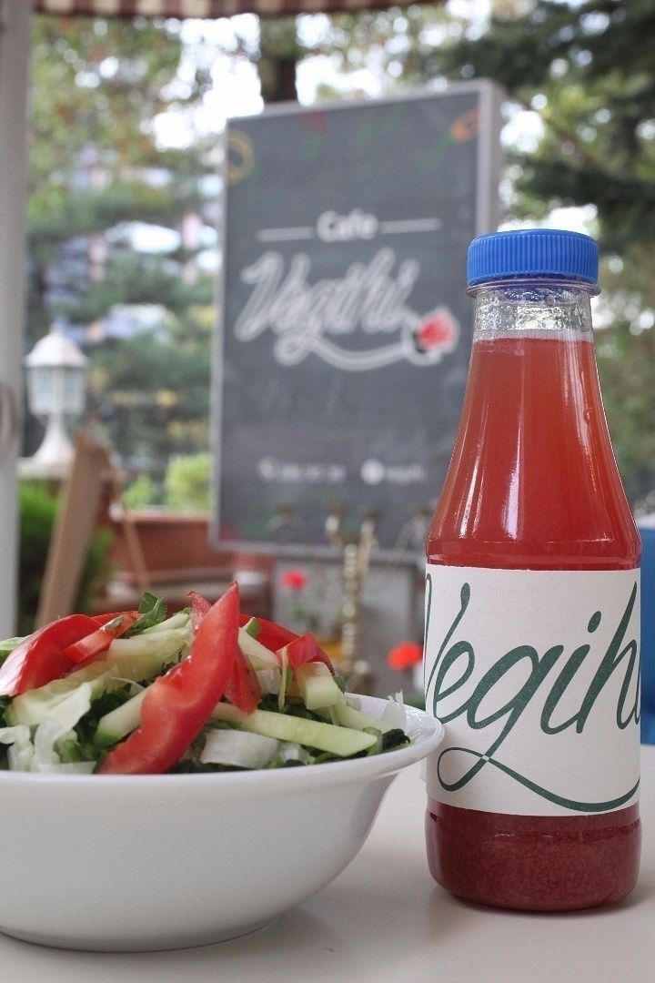 """Photo of CLOSED: Vegihi  by <a href=""""/members/profile/Lkyrk"""">Lkyrk</a> <br/>Cornelian cherry juice. You may find homemade-fresh fruit juices, herbal teas and smoothies in Vegihi. You can even take them with you...  <br/> October 23, 2016  - <a href='/contact/abuse/image/80619/183964'>Report</a>"""