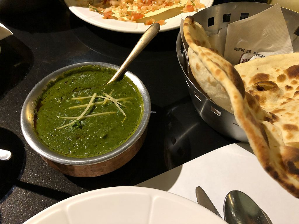 "Photo of TAJ - Taste of Indian - 타지  by <a href=""/members/profile/Knauji82"">Knauji82</a> <br/>Vegan spinach curry <br/> December 31, 2017  - <a href='/contact/abuse/image/80620/341239'>Report</a>"
