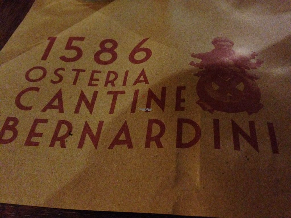 """Photo of Cantine Bernardini  by <a href=""""/members/profile/AliciaPiccolina"""">AliciaPiccolina</a> <br/>Been around since 1586! <br/> January 17, 2017  - <a href='/contact/abuse/image/80621/212590'>Report</a>"""