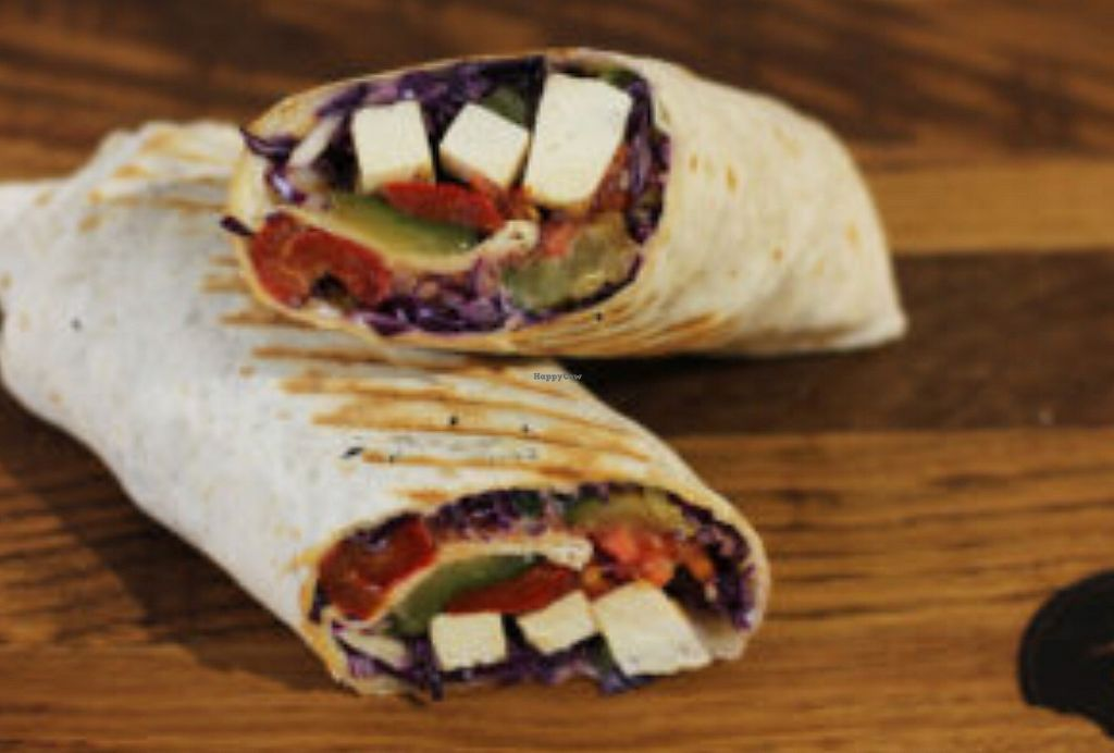 "Photo of Good Food  by <a href=""/members/profile/Lynn555"">Lynn555</a> <br/>Vegan tortilla (Tortilla, tofu, roasted pepper, grilled zucchini, red cabbage, tomatoe, vegan yogurt) <br/> April 13, 2018  - <a href='/contact/abuse/image/80624/384964'>Report</a>"