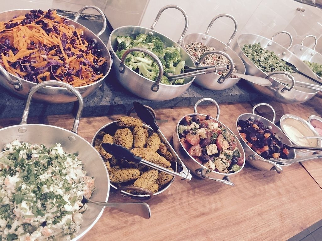 """Photo of OM Vegan Kitchen  by <a href=""""/members/profile/OM.Vegan.Kitchen"""">OM.Vegan.Kitchen</a> <br/>Ever changing lunch buffet at OM. Delicious, fresh and healthy fast food served daily <br/> February 24, 2017  - <a href='/contact/abuse/image/80628/230047'>Report</a>"""