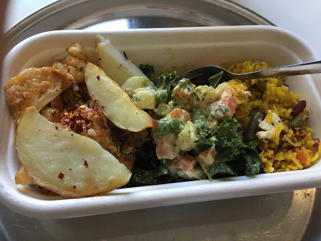 """Photo of OM Vegan Kitchen  by <a href=""""/members/profile/JackSlack"""">JackSlack</a> <br/>Om <br/> August 18, 2017  - <a href='/contact/abuse/image/80628/293829'>Report</a>"""