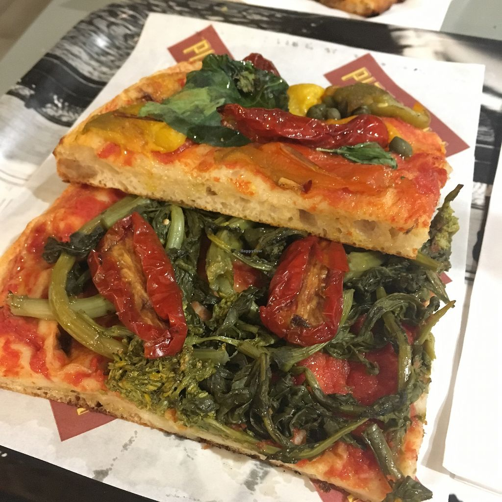 """Photo of Pizzarium  by <a href=""""/members/profile/Pitaya"""">Pitaya</a> <br/>vegan Sundays are really nice! Follow their facebook for dates <br/> August 20, 2017  - <a href='/contact/abuse/image/80630/294807'>Report</a>"""