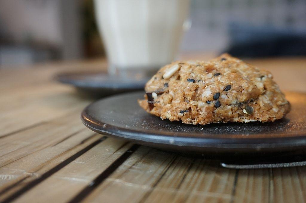 "Photo of Isla Coffee  by <a href=""/members/profile/HappyNatasha"">HappyNatasha</a> <br/>Vegan cookie <br/> February 18, 2017  - <a href='/contact/abuse/image/80634/227904'>Report</a>"