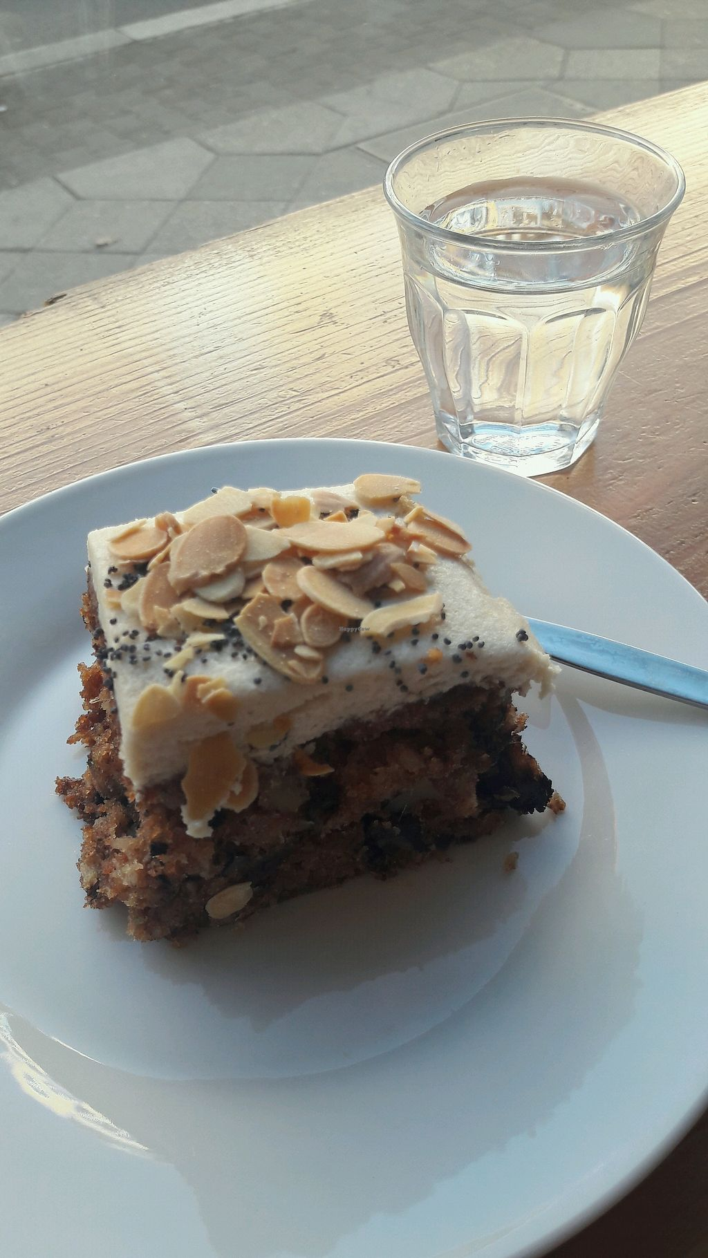 """Photo of Isla Coffee  by <a href=""""/members/profile/piffelina"""">piffelina</a> <br/>Vegan carrot cake <br/> April 22, 2018  - <a href='/contact/abuse/image/80634/389466'>Report</a>"""