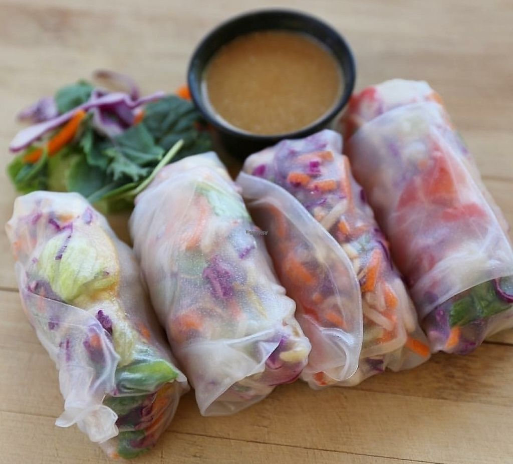 """Photo of Thai Curry Kitchen  by <a href=""""/members/profile/SFoley"""">SFoley</a> <br/>Spring rolls <br/> September 26, 2016  - <a href='/contact/abuse/image/80652/230515'>Report</a>"""