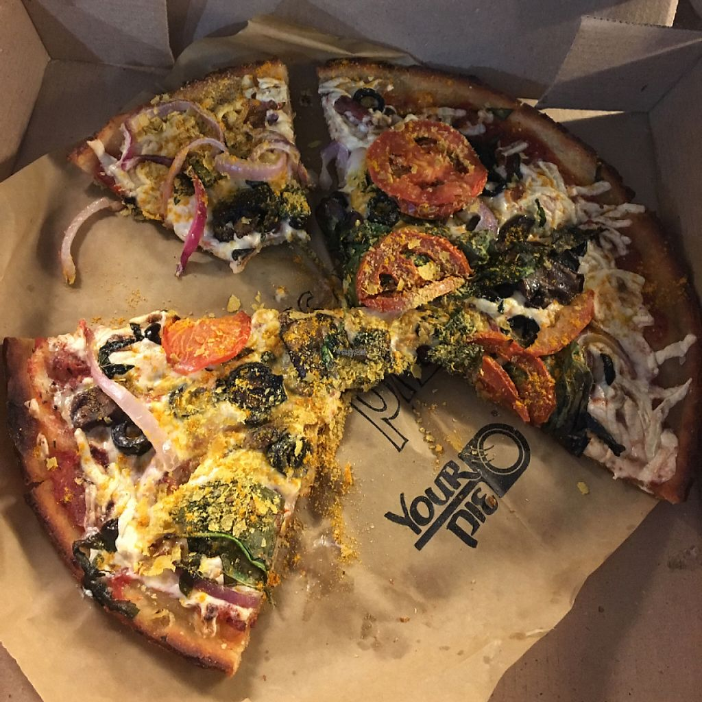 """Photo of Your Pie  by <a href=""""/members/profile/Amytara214"""">Amytara214</a> <br/>Vegan-Gluten Free Cheese Pizza <br/> November 30, 2016  - <a href='/contact/abuse/image/80656/195908'>Report</a>"""