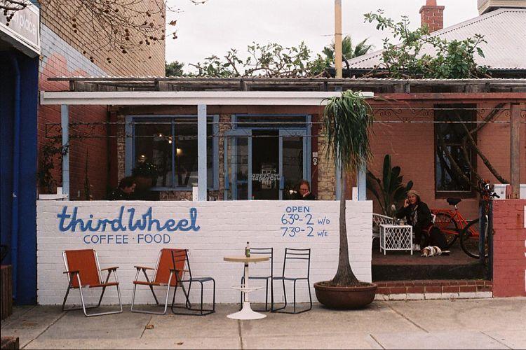 "Photo of Third Wheel Cafe  by <a href=""/members/profile/Georgiageorgia"">Georgiageorgia</a> <br/>Exterior of cafe <br/> September 27, 2016  - <a href='/contact/abuse/image/80662/178235'>Report</a>"