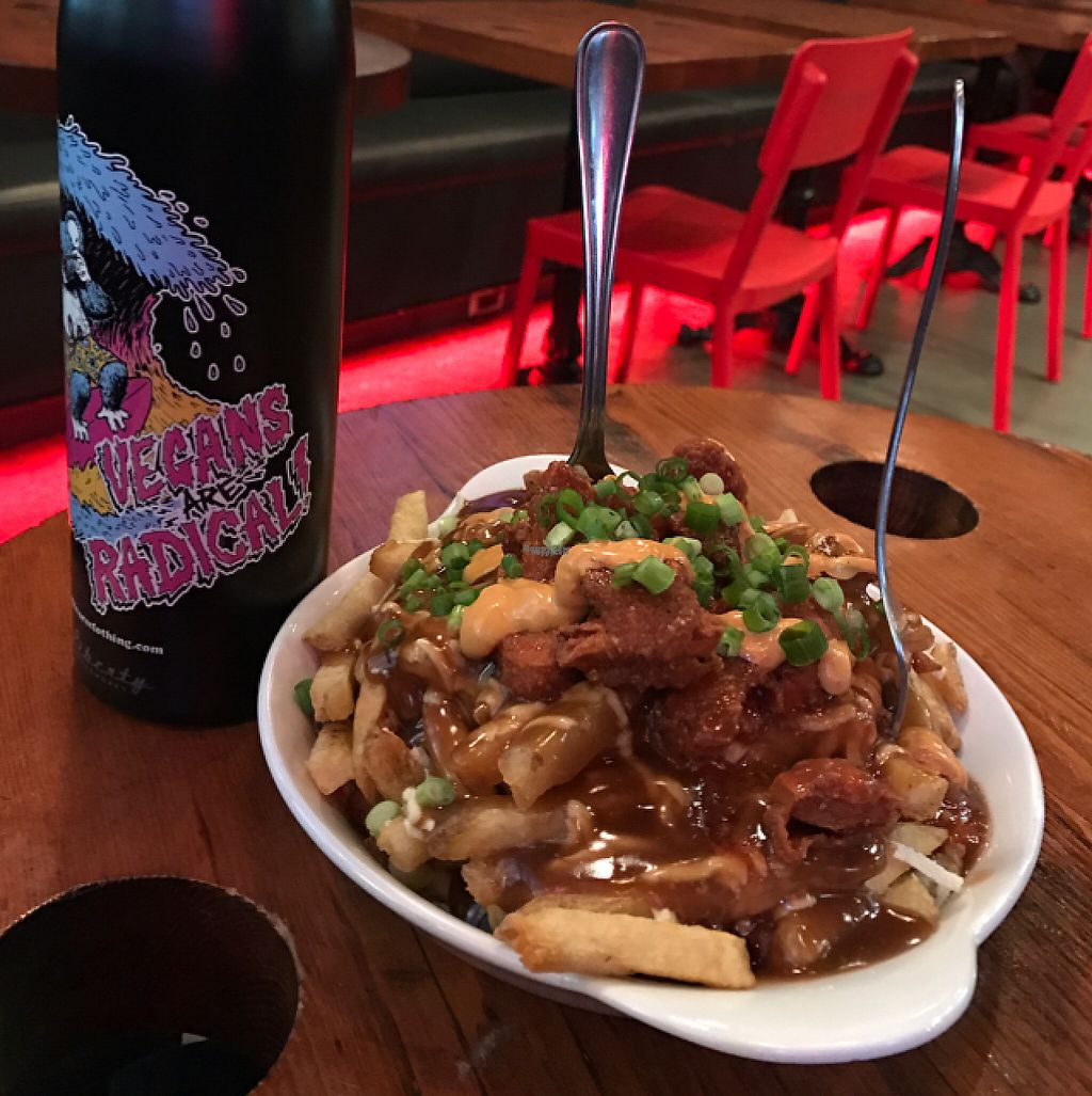 """Photo of The Spud Shack  by <a href=""""/members/profile/ByronSobe"""">ByronSobe</a> <br/>buffalo chicken poutine (medium) <br/> November 26, 2016  - <a href='/contact/abuse/image/80670/194875'>Report</a>"""