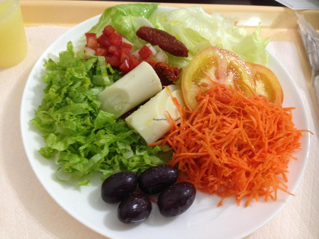 """Photo of Boa Saude  by <a href=""""/members/profile/Paolla"""">Paolla</a> <br/>Some of the salads options on Sunday: lettuce, tomato, palm heart, dried tomato, olive, vinaigrette <br/> November 30, 2014  - <a href='/contact/abuse/image/8067/86789'>Report</a>"""