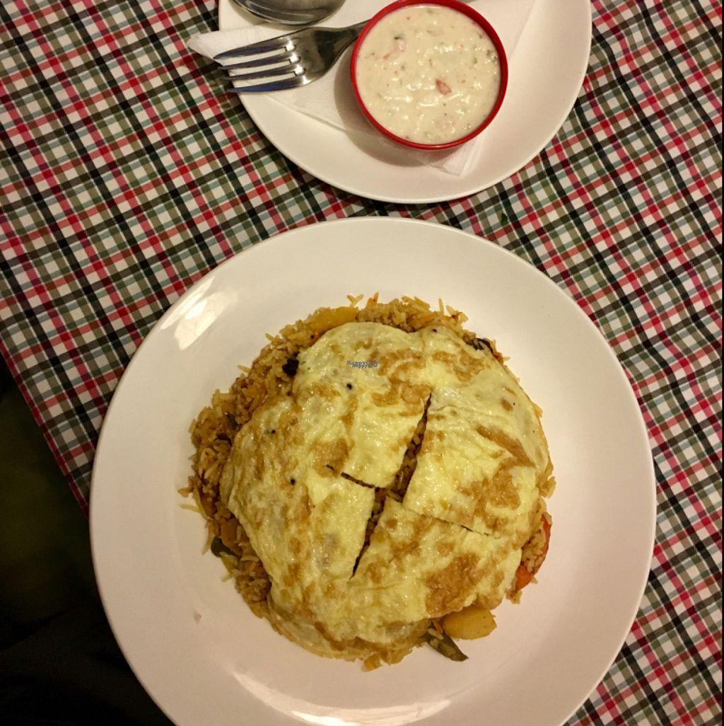 "Photo of Sarangi Vegetarian Restaurant  by <a href=""/members/profile/Plumbgray"">Plumbgray</a> <br/>Vegetable Biryani <br/> November 5, 2016  - <a href='/contact/abuse/image/80681/186663'>Report</a>"