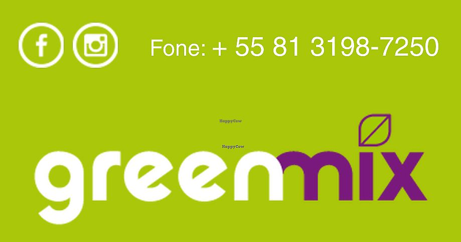 """Photo of Greenmix  by <a href=""""/members/profile/bfeitosa"""">bfeitosa</a> <br/>Logo and contact <br/> October 3, 2016  - <a href='/contact/abuse/image/80687/327296'>Report</a>"""