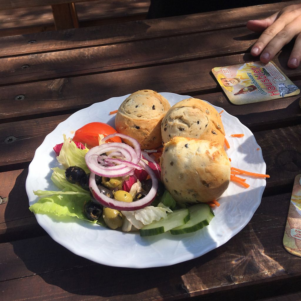 """Photo of Beim Olivenbauer  by <a href=""""/members/profile/Alyse_xo"""">Alyse_xo</a> <br/>olive bread  <br/> April 20, 2017  - <a href='/contact/abuse/image/80693/250254'>Report</a>"""