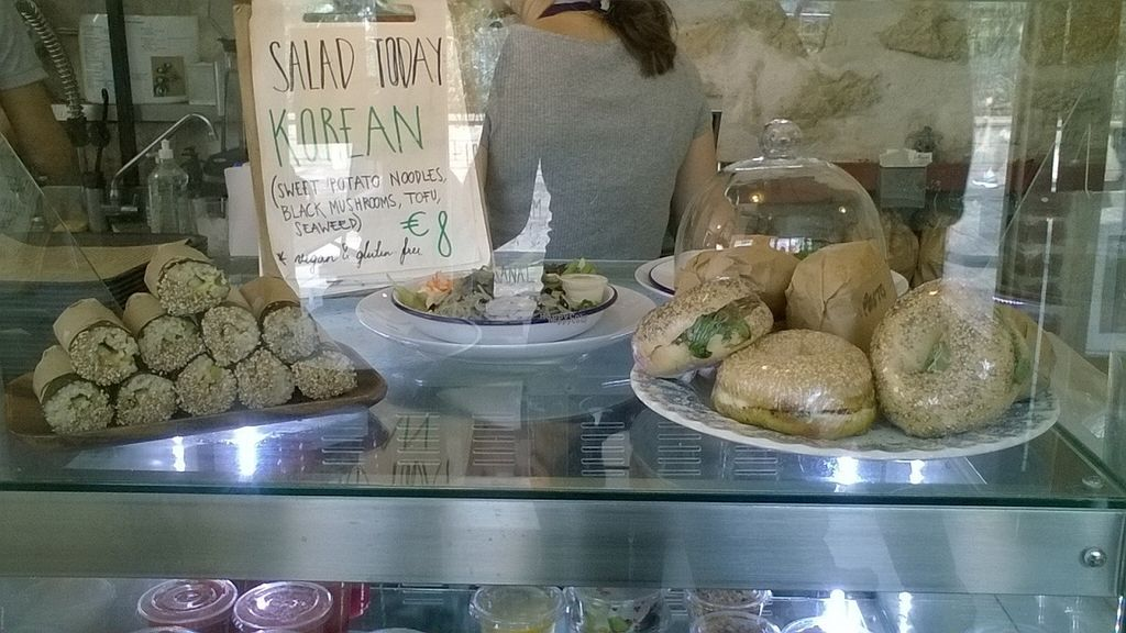 """Photo of Shakespeare and Company Cafe  by <a href=""""/members/profile/Sylvane"""">Sylvane</a> <br/>vegan korean salad, 8€ <br/> October 7, 2016  - <a href='/contact/abuse/image/80718/180224'>Report</a>"""