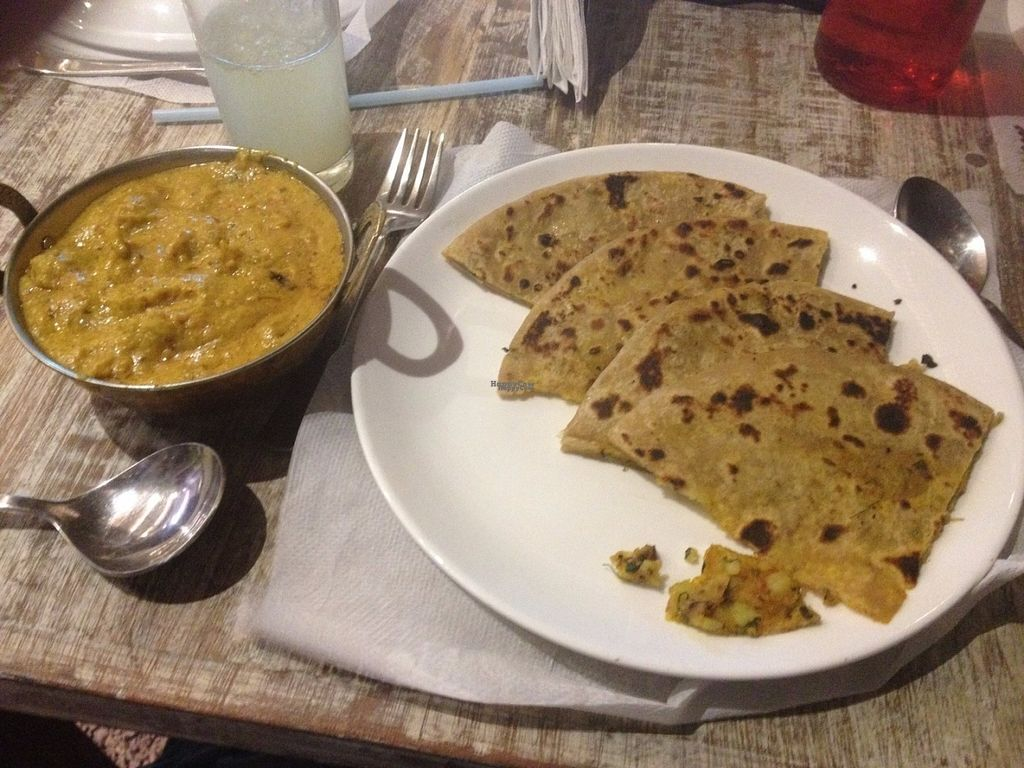 "Photo of Jeeman Veg Restaurant  by <a href=""/members/profile/vegan_ryan"">vegan_ryan</a> <br/>Rajasthani veg + paranthas <br/> October 5, 2016  - <a href='/contact/abuse/image/80723/179878'>Report</a>"