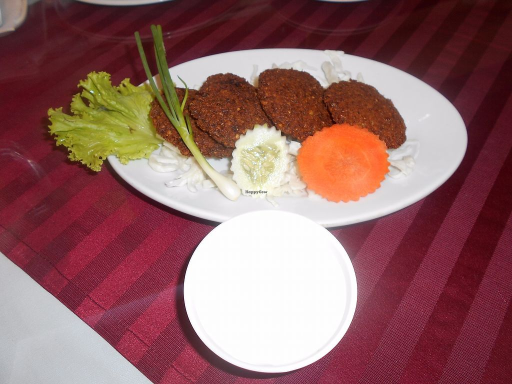 """Photo of Dubai Indian and Arabic Restaurant  by <a href=""""/members/profile/Kelly%20Kelly"""">Kelly Kelly</a> <br/>Dubai Indian and Arabic Restaurant (Formerly Al Diwan) 3 - Excellent Falafel and Dip <br/> July 10, 2017  - <a href='/contact/abuse/image/80733/278857'>Report</a>"""