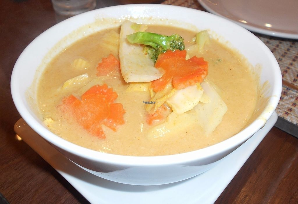 """Photo of Tamnan Thai    by <a href=""""/members/profile/Kelly%20Kelly"""">Kelly Kelly</a> <br/>Tamnan Thai  - yellow curry - one of the best I ever had! <br/> October 7, 2016  - <a href='/contact/abuse/image/80736/180247'>Report</a>"""