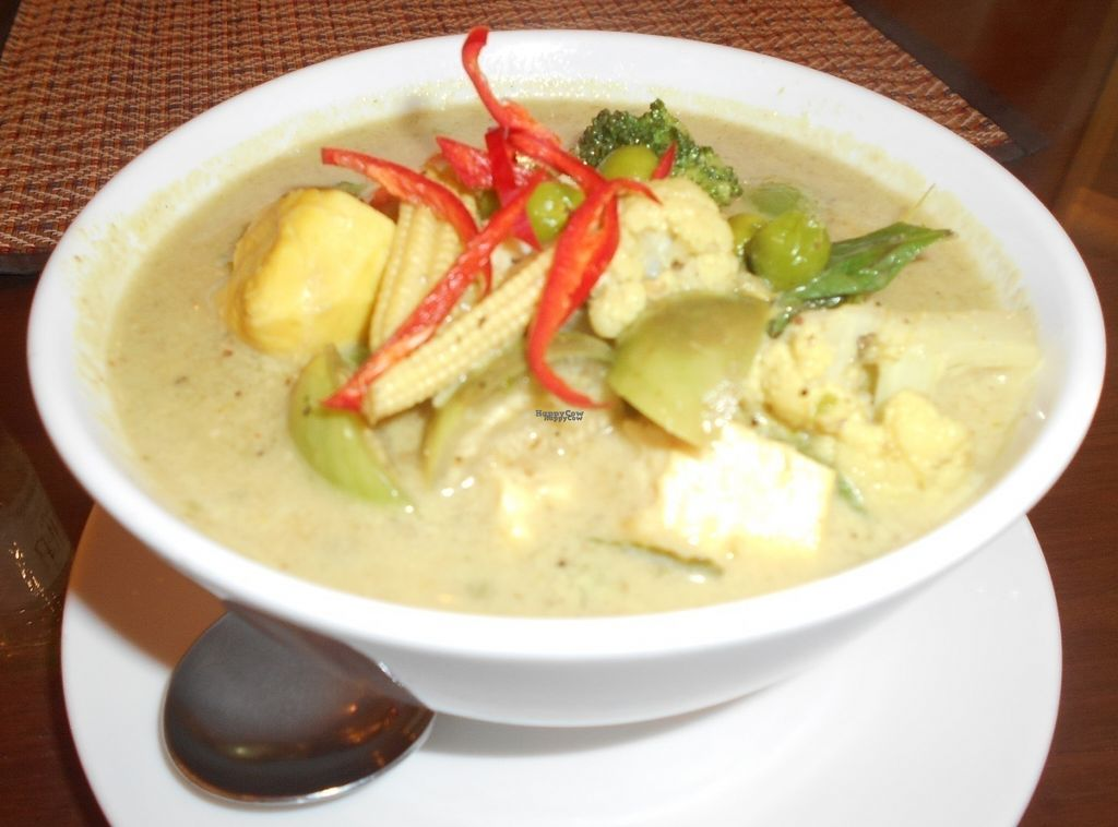 """Photo of Tamnan Thai    by <a href=""""/members/profile/Kelly%20Kelly"""">Kelly Kelly</a> <br/>Tamnan Thai - green curry <br/> October 7, 2016  - <a href='/contact/abuse/image/80736/180250'>Report</a>"""