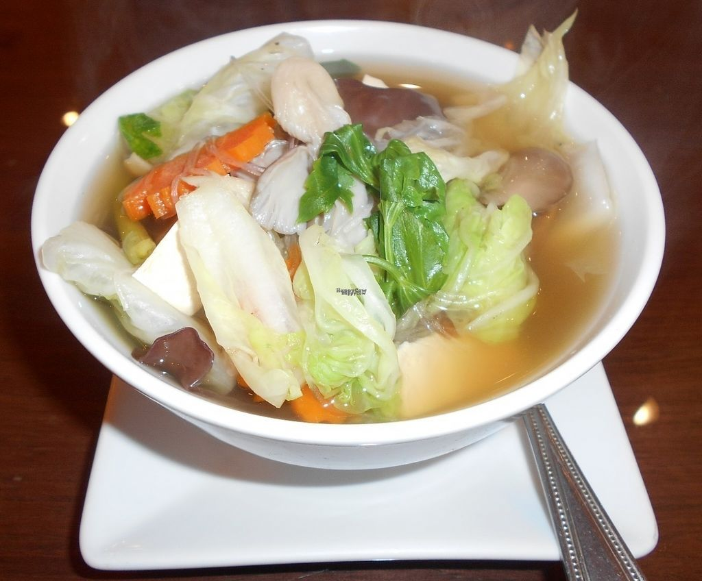 """Photo of Tamnan Thai    by <a href=""""/members/profile/Kelly%20Kelly"""">Kelly Kelly</a> <br/>Tamnan Thai - Chinese Cabbage & Tofu Soup, loaded with fresh veggies <br/> October 7, 2016  - <a href='/contact/abuse/image/80736/180251'>Report</a>"""