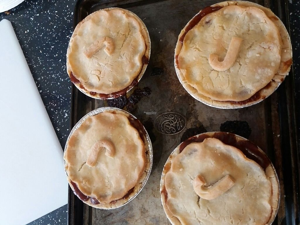 """Photo of The Pie Parlour & Bakery  by <a href=""""/members/profile/Thepieparlour"""">Thepieparlour</a> <br/>barbequed jackfruit vegan pie <br/> April 8, 2017  - <a href='/contact/abuse/image/80742/245835'>Report</a>"""