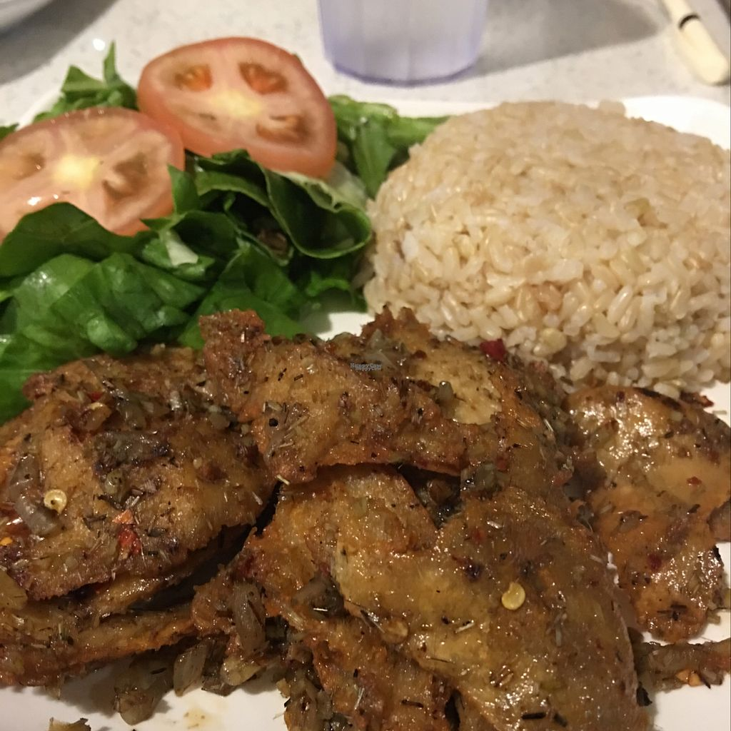 """Photo of Loving Hut  by <a href=""""/members/profile/xmrfigx"""">xmrfigx</a> <br/>Spicy Lemongrass and Brown Rice <br/> October 13, 2016  - <a href='/contact/abuse/image/80749/181674'>Report</a>"""