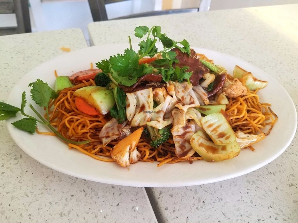 """Photo of Loving Hut  by <a href=""""/members/profile/AshleyBeckwith"""">AshleyBeckwith</a> <br/>My daughter loves noodles so we ordered the chow mein it had so much flavor, was very filling.  <br/> October 20, 2016  - <a href='/contact/abuse/image/80749/183228'>Report</a>"""