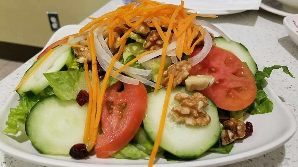 """Photo of Loving Hut  by <a href=""""/members/profile/kenvegan"""">kenvegan</a> <br/>Loving Salad <br/> October 30, 2016  - <a href='/contact/abuse/image/80749/185321'>Report</a>"""