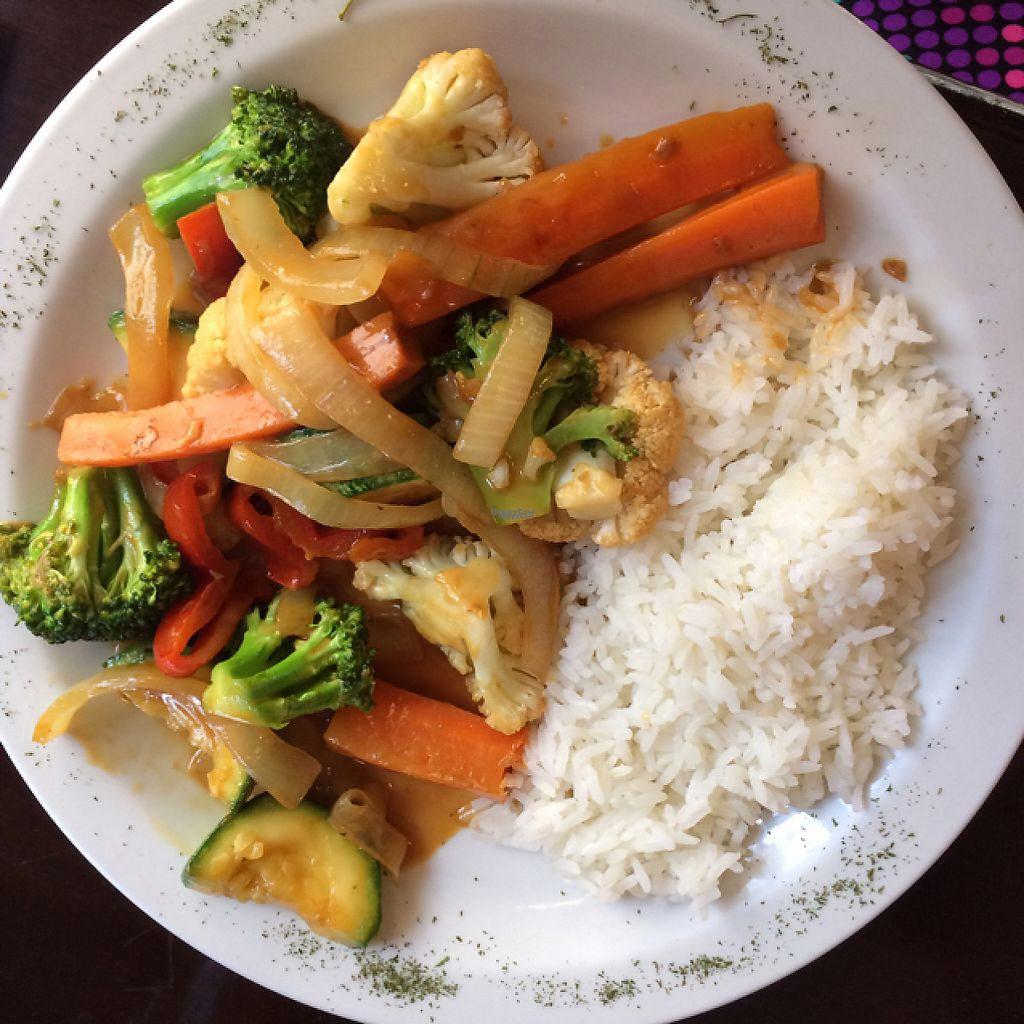 """Photo of Poseidon Restaurant  by <a href=""""/members/profile/KatieBush"""">KatieBush</a> <br/>vegan curry <br/> April 22, 2017  - <a href='/contact/abuse/image/80759/251199'>Report</a>"""