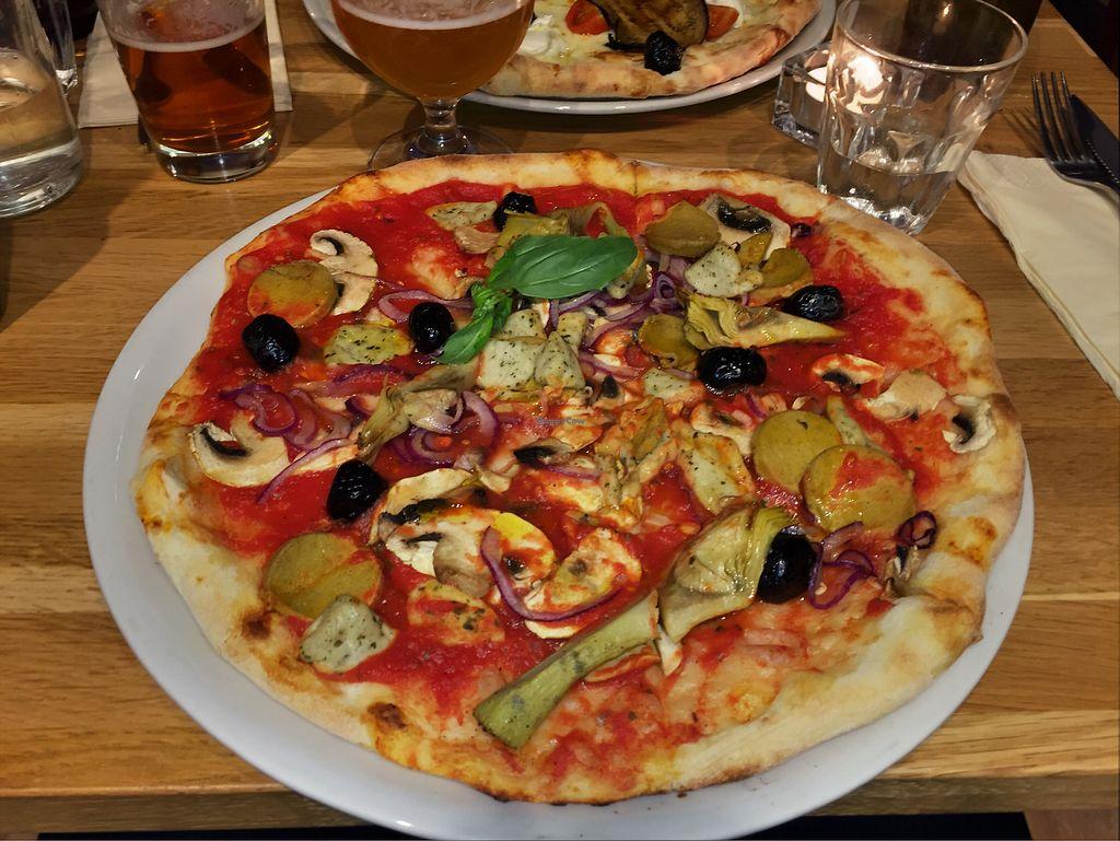 "Photo of Slice Pizza  by <a href=""/members/profile/Christi"">Christi</a> <br/>Veggeroni vegan pizza  <br/> December 11, 2017  - <a href='/contact/abuse/image/80776/334655'>Report</a>"