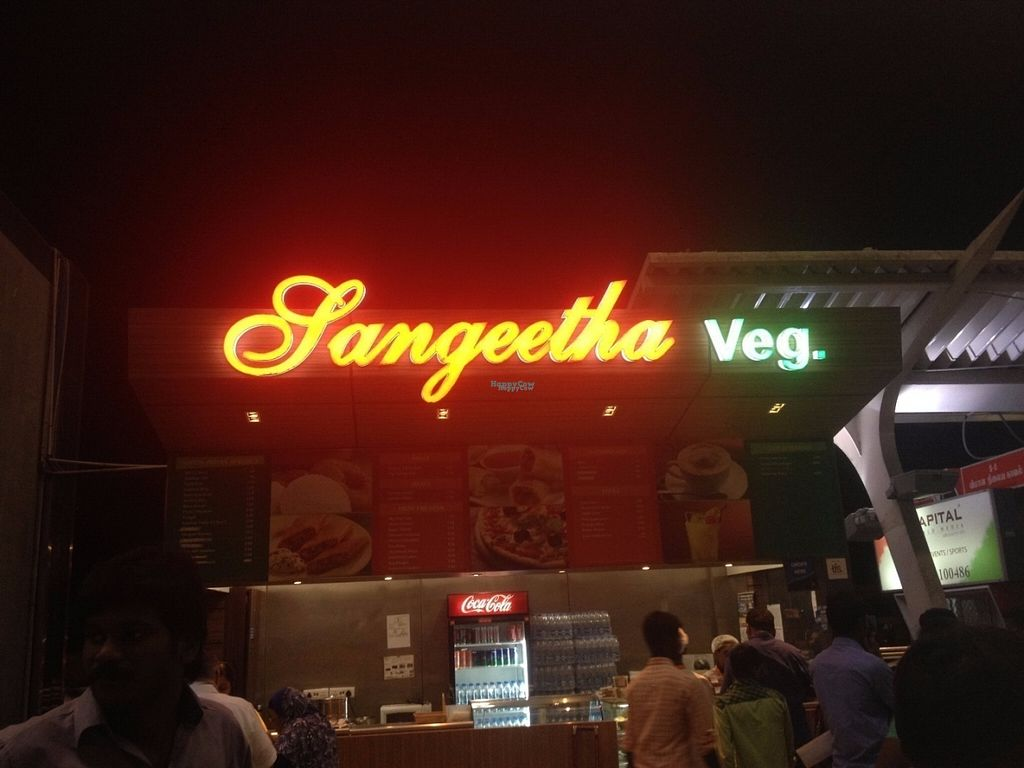 """Photo of Sangeetha Veg  by <a href=""""/members/profile/vegan_ryan"""">vegan_ryan</a> <br/>Exterior <br/> October 9, 2016  - <a href='/contact/abuse/image/80778/180823'>Report</a>"""