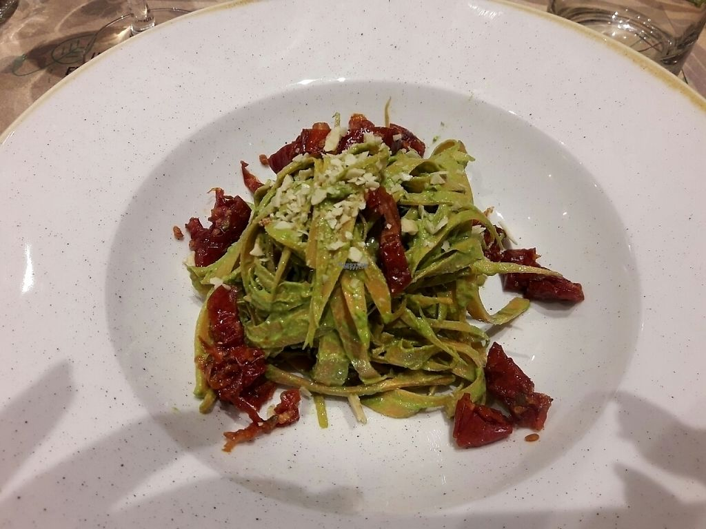 """Photo of Solo Crudo - Prati  by <a href=""""/members/profile/sXe_22"""">sXe_22</a> <br/>carrot fettuccine with pesto <br/> December 1, 2016  - <a href='/contact/abuse/image/80789/196094'>Report</a>"""