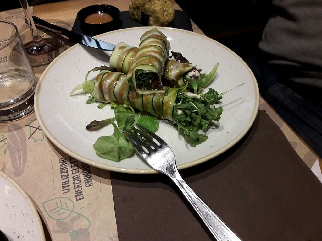 """Photo of Solo Crudo - Prati  by <a href=""""/members/profile/sXe_22"""">sXe_22</a> <br/>courgette rolls <br/> December 1, 2016  - <a href='/contact/abuse/image/80789/196095'>Report</a>"""