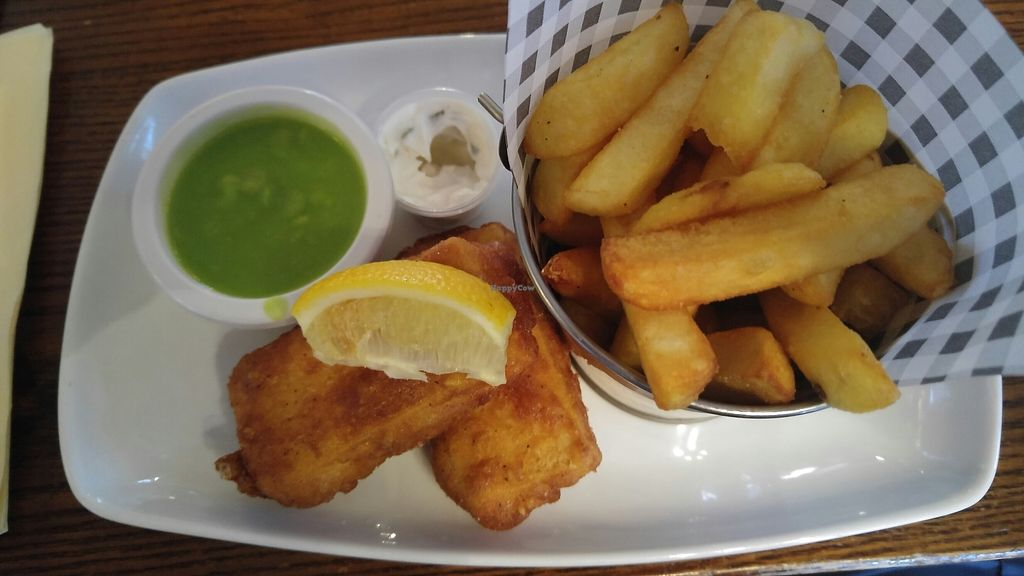 """Photo of The Farmer's Union Pub   by <a href=""""/members/profile/JohnKnight"""">JohnKnight</a> <br/>Tofu and chips <br/> August 7, 2017  - <a href='/contact/abuse/image/80795/290169'>Report</a>"""