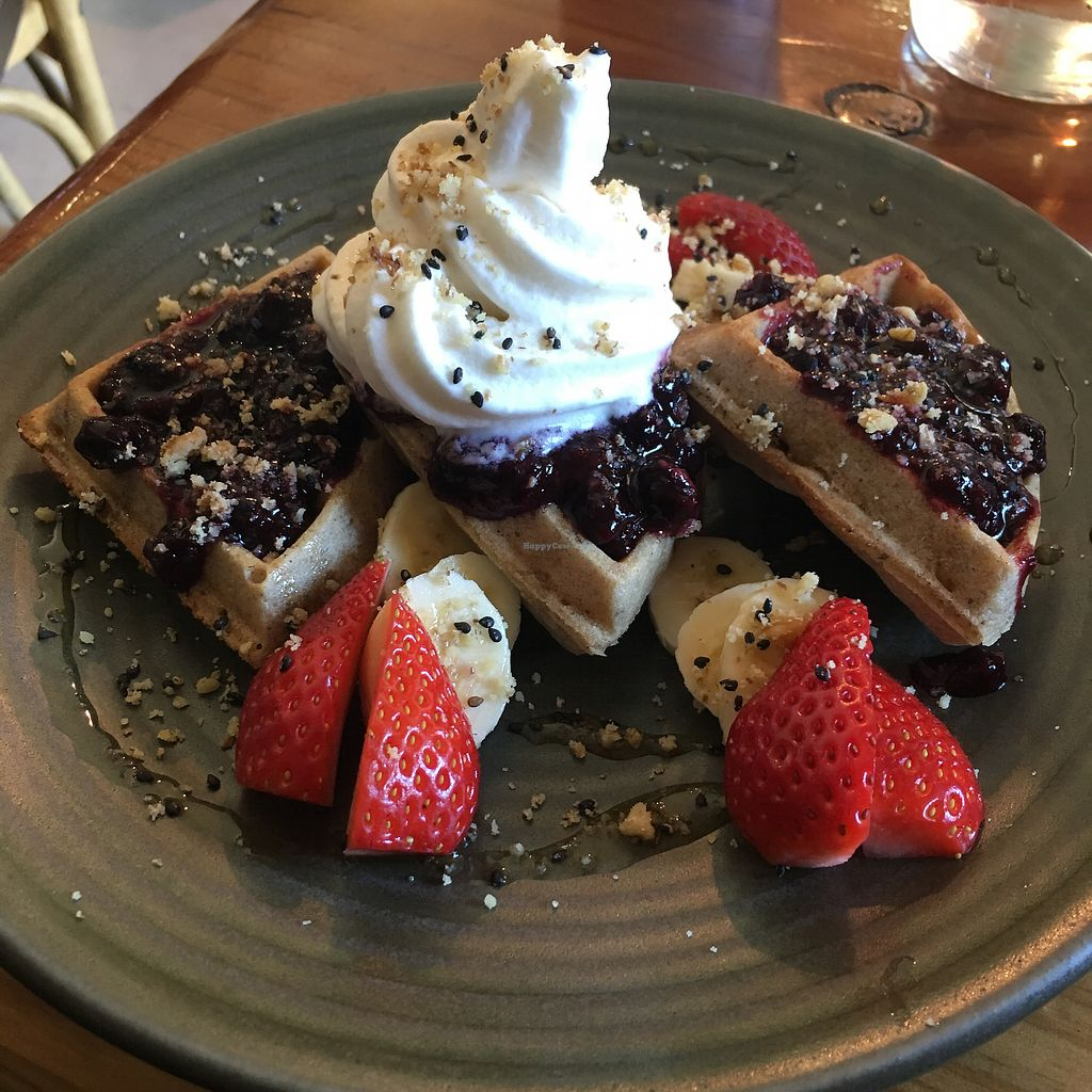 "Photo of Hills Organics  by <a href=""/members/profile/Mslanei"">Mslanei</a> <br/>Vegan waffles  <br/> July 4, 2017  - <a href='/contact/abuse/image/80820/276529'>Report</a>"