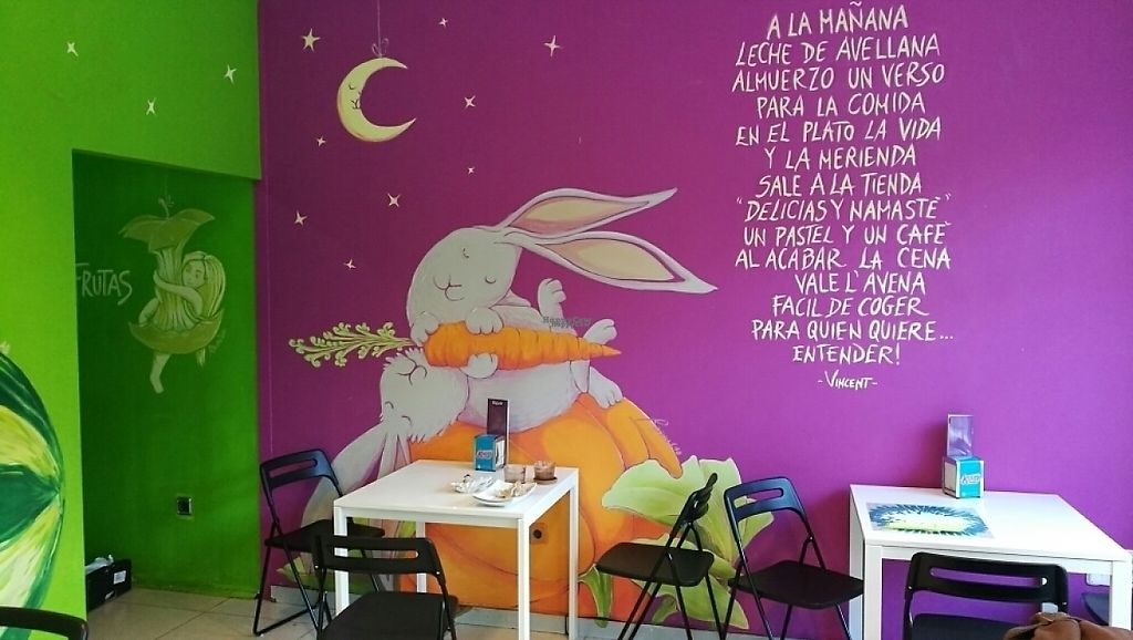 "Photo of Delicias y Namaste  by <a href=""/members/profile/beat"">beat</a> <br/>charming atmosphere and friendly staff <br/> February 10, 2017  - <a href='/contact/abuse/image/80824/225015'>Report</a>"