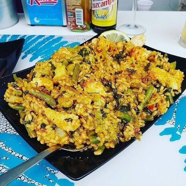 "Photo of Delicias y Namaste  by <a href=""/members/profile/Larsii"">Larsii</a> <br/>Paella Vegano ❤ <br/> June 14, 2017  - <a href='/contact/abuse/image/80824/269084'>Report</a>"