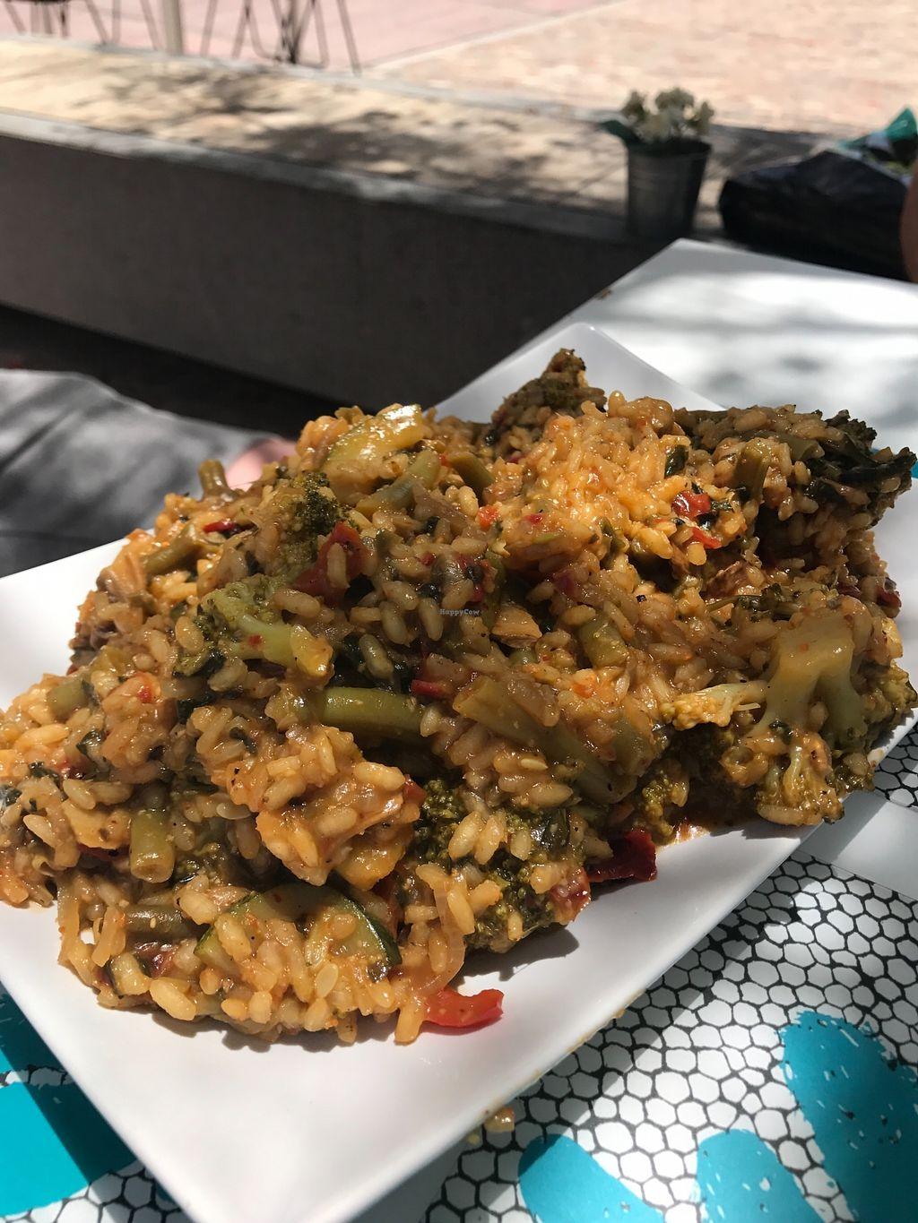 "Photo of Delicias y Namaste  by <a href=""/members/profile/EllisS"">EllisS</a> <br/>Vegetable paella  <br/> July 30, 2017  - <a href='/contact/abuse/image/80824/286584'>Report</a>"
