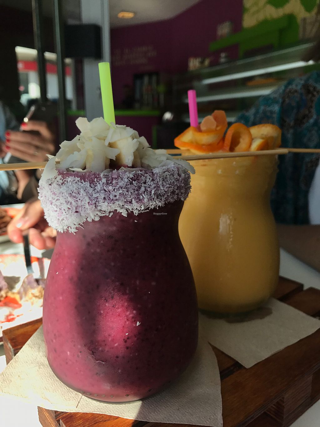 "Photo of Delicias y Namaste  by <a href=""/members/profile/AdamBdam"">AdamBdam</a> <br/>Smoothies! <br/> March 18, 2018  - <a href='/contact/abuse/image/80824/372507'>Report</a>"