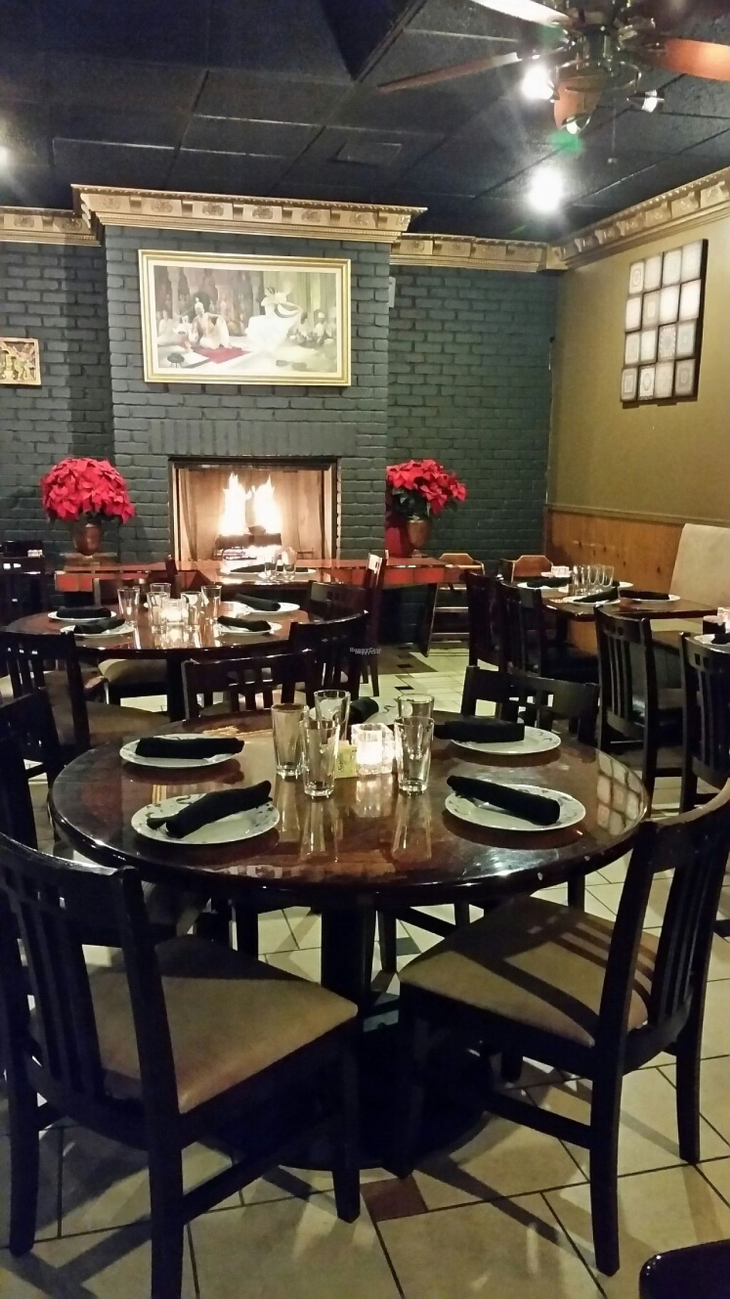 """Photo of Kathmandu Kitchen  by <a href=""""/members/profile/True%20North"""">True North</a> <br/>main dining room with cozy fire <br/> January 28, 2017  - <a href='/contact/abuse/image/80848/218071'>Report</a>"""