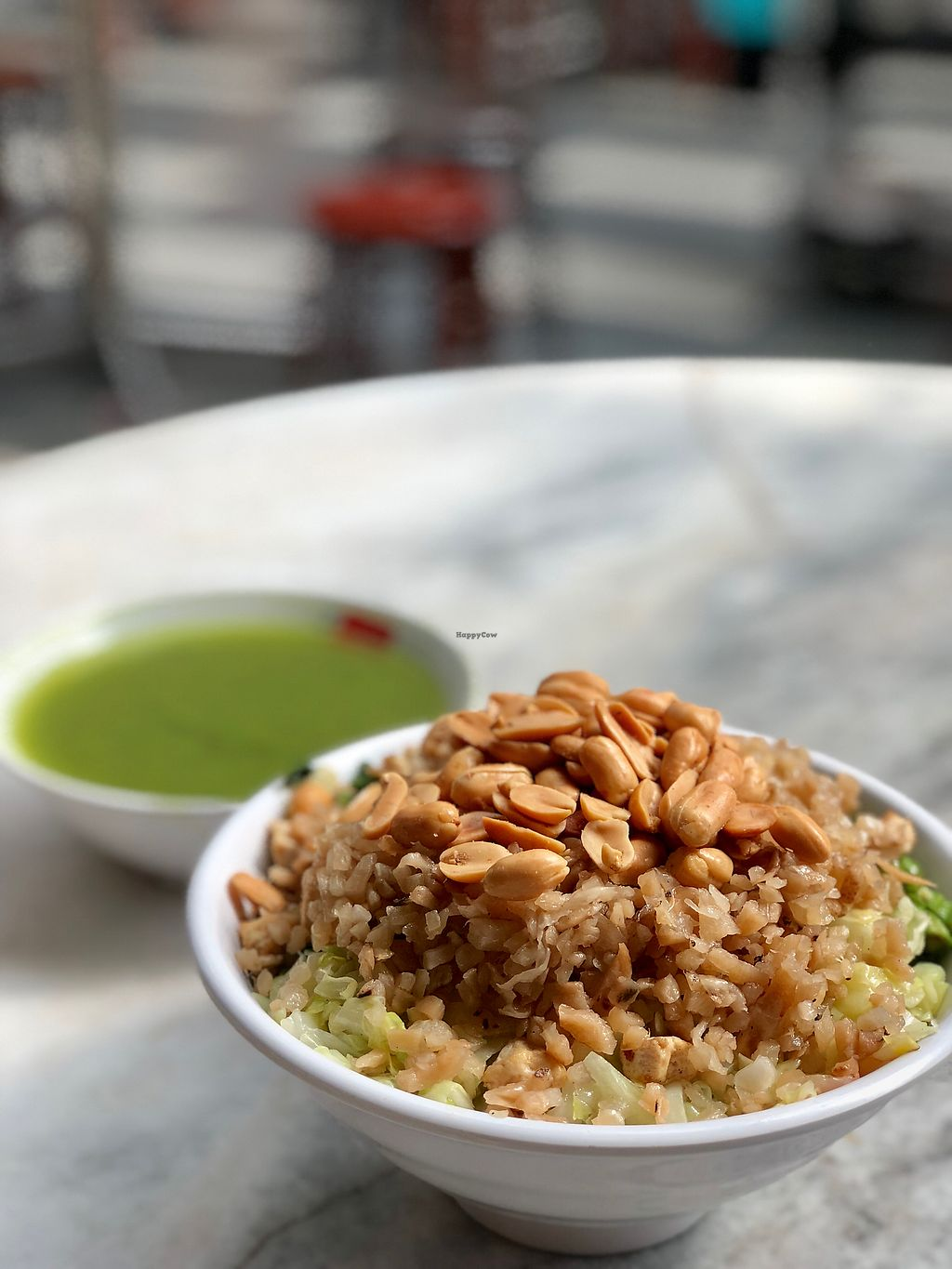 """Photo of Fortune Tree Vegetarian  by <a href=""""/members/profile/CherylQuincy"""">CherylQuincy</a> <br/>Upsized Leicha (thunder tea rice) <br/> February 6, 2018  - <a href='/contact/abuse/image/80849/355516'>Report</a>"""