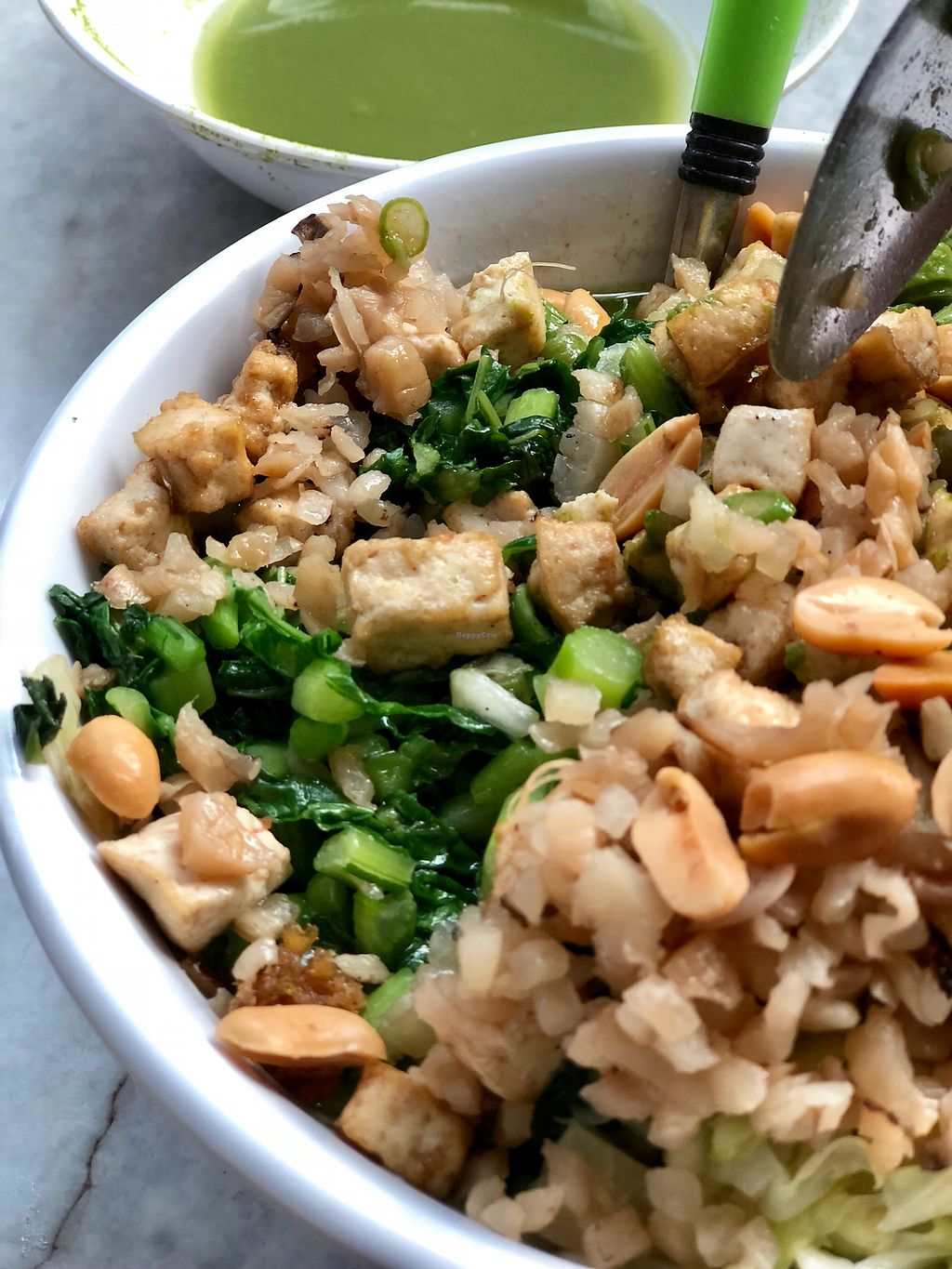 """Photo of Fortune Tree Vegetarian  by <a href=""""/members/profile/CherylQuincy"""">CherylQuincy</a> <br/>Thunder tea rice (upsized) <br/> February 6, 2018  - <a href='/contact/abuse/image/80849/355517'>Report</a>"""