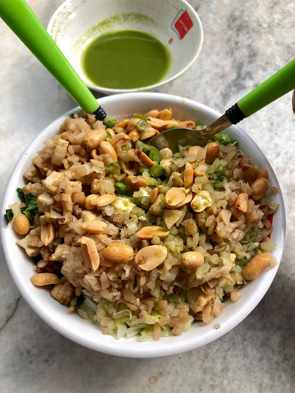 """Photo of Fortune Tree Vegetarian  by <a href=""""/members/profile/CherylQuincy"""">CherylQuincy</a> <br/>Thunder tea rice (upsized) <br/> February 6, 2018  - <a href='/contact/abuse/image/80849/355519'>Report</a>"""