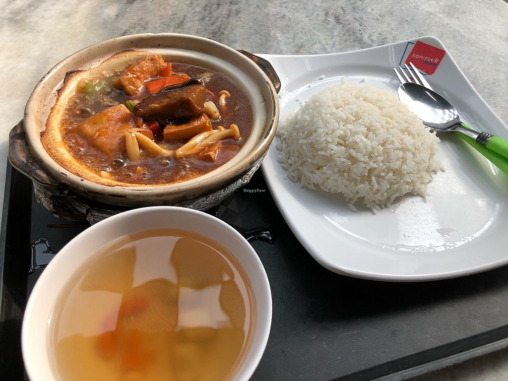 """Photo of Fortune Tree Vegetarian  by <a href=""""/members/profile/CherylQuincy"""">CherylQuincy</a> <br/>Claypot Tofu <br/> February 28, 2018  - <a href='/contact/abuse/image/80849/364709'>Report</a>"""