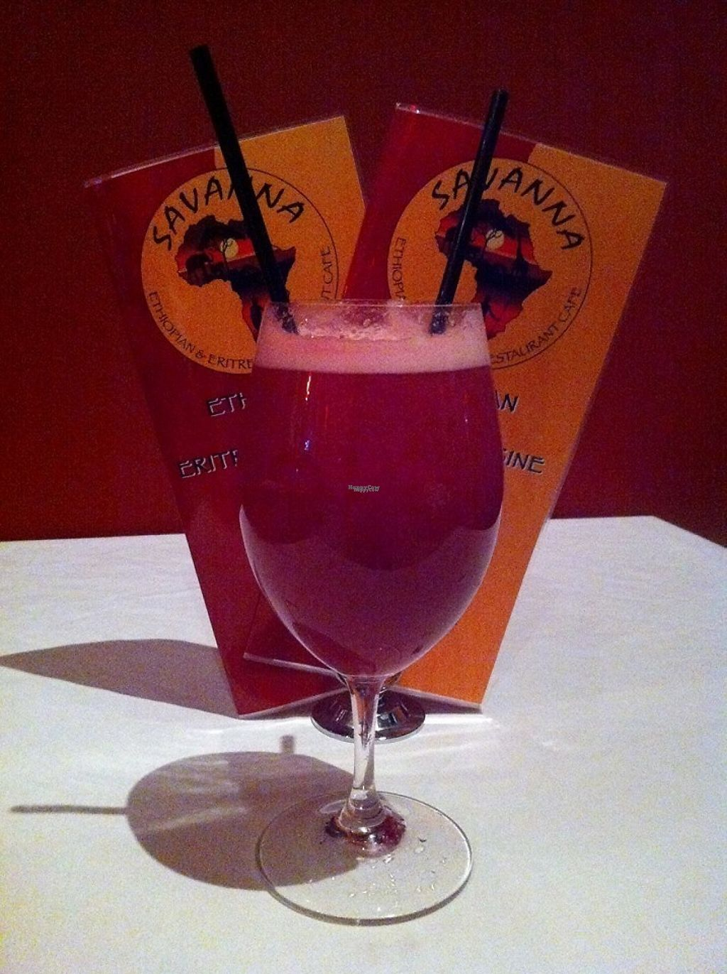 "Photo of Savanna African Restaurant  by <a href=""/members/profile/community"">community</a> <br/>Red Pomegranate Juice <br/> March 30, 2017  - <a href='/contact/abuse/image/80852/242601'>Report</a>"