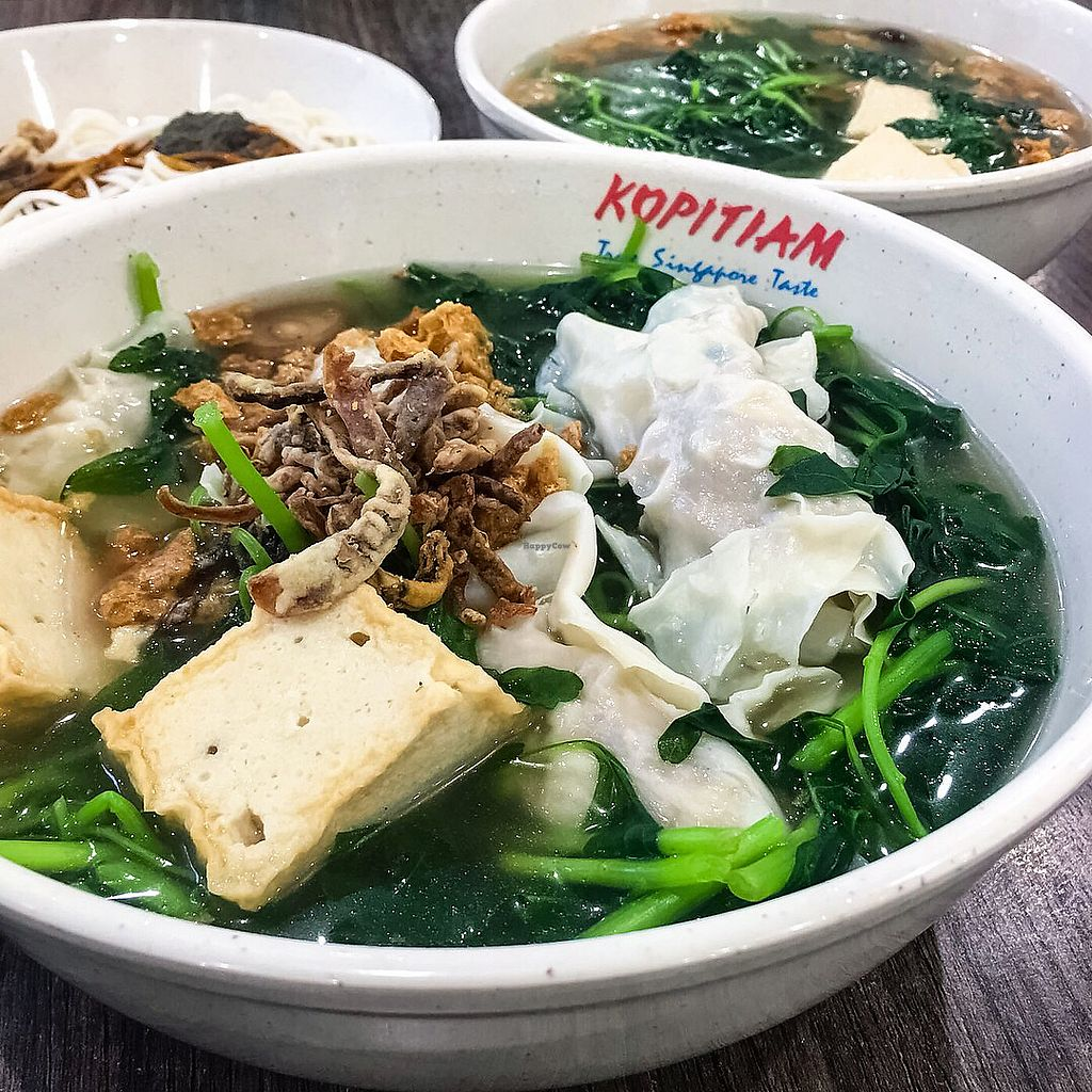 "Photo of Xuan Miao Vegan - SengKang  by <a href=""/members/profile/Sweetveganneko"">Sweetveganneko</a> <br/>Dumpling soup  <br/> March 12, 2018  - <a href='/contact/abuse/image/80860/369688'>Report</a>"