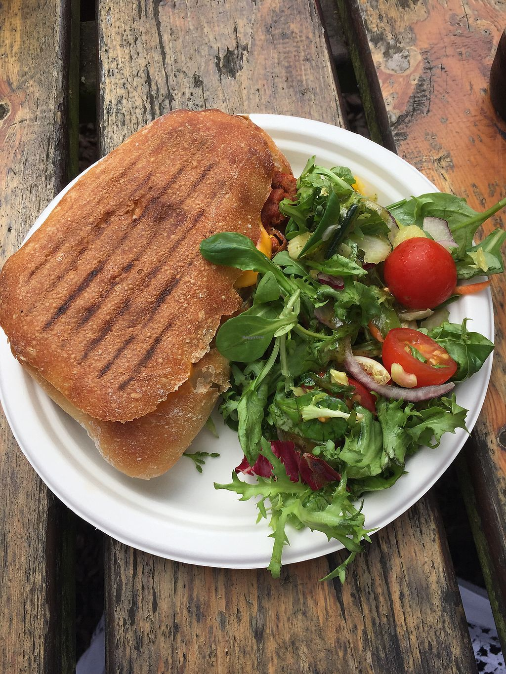 """Photo of Pilgrims Coffee House  by <a href=""""/members/profile/EmilyAlice"""">EmilyAlice</a> <br/>Vegan chilli toastie  <br/> July 29, 2017  - <a href='/contact/abuse/image/80900/286205'>Report</a>"""